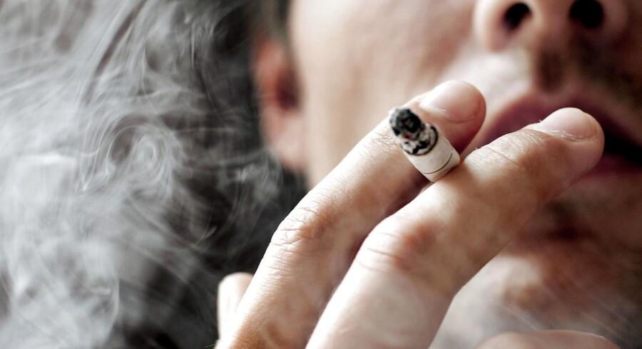 I 2010 røg 21 pct. af danskerne. Hvor mange ryger i dag? (Foto: Linda Kastrup/Scanpix 2018)