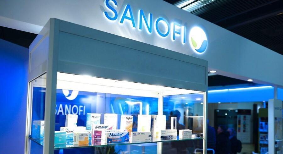 Arkivfoto. Det franske medicinalselskab Sanofi kan være på vej til at komme med et modbud på det schweiziske biotekselskab Actelion, der i forvejen ligger i drøftelser om at lade sig overtage af amerikanske Johnson & Johnson.