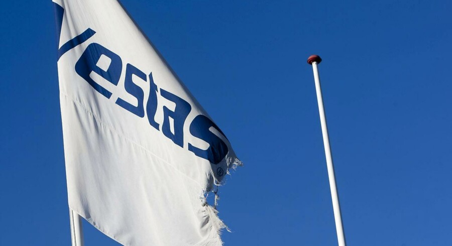 ARKIVFOTO 2010 af Vestas flag-