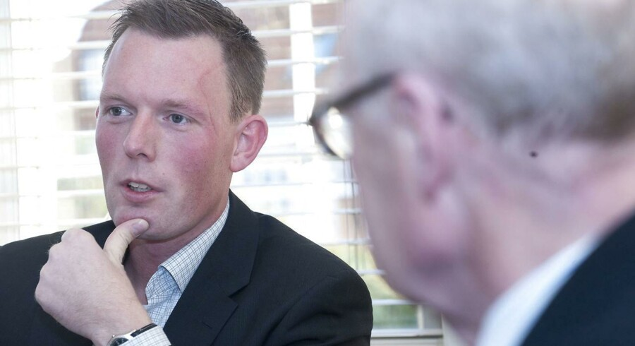 Jesper Arkil, administrerende direktør for entreprenørfirmaet.