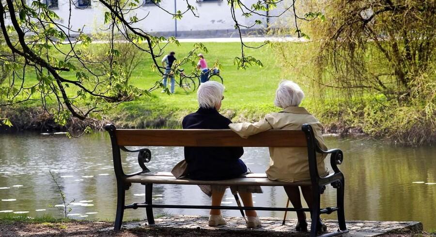 Arkivfoto: Antallet af indbyggere i Danmark er på ti år steget med 300.000 personer. Især andelen af ældre stiger.