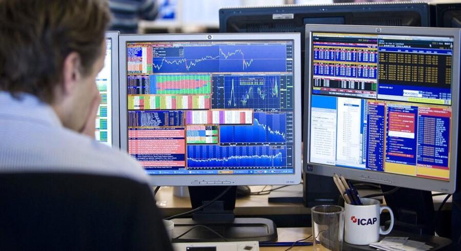 Arkivfoto. Mandag byder på en unik situation på de europæiske børser. Kun én eneste - den danske - holder åbent for handel, mens resten er lukket.