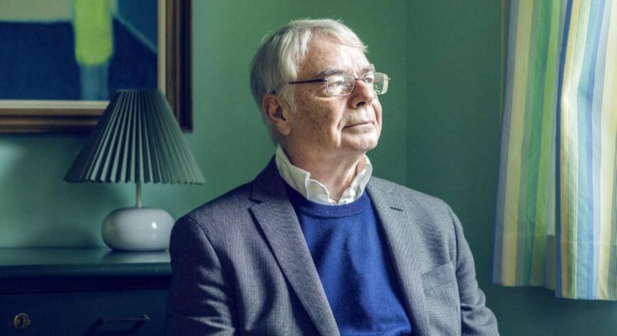 Sprogprofessor og formand for Dansk Sprognævn, Jørn Lund. Foto: Nikolai Linares