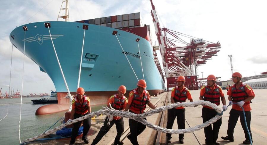 »Maersk Line er markedsleder og vil helt sikkert deltage i konsolideringen - det er nødvendigt for dem,« siger Jefferies' transportanalytiker David Kersten.