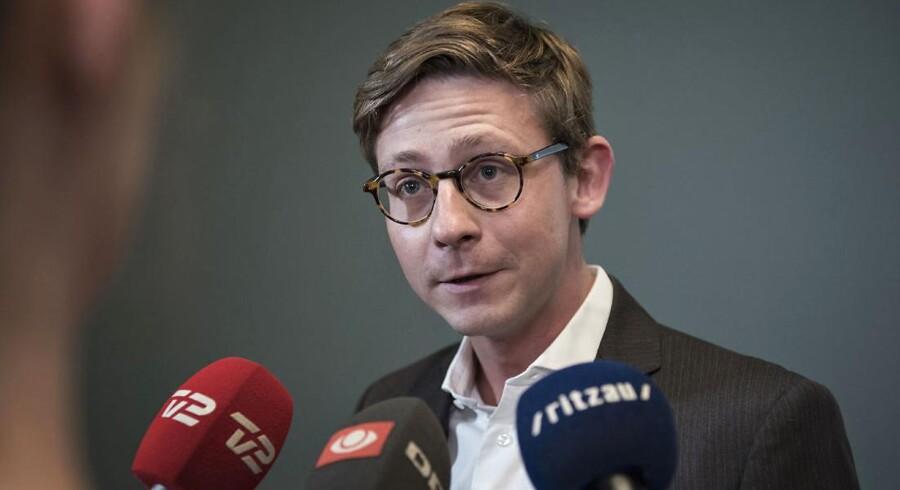 Skatteminister Karsten Lauritzen