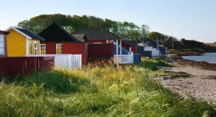 Fantasien om at bo fast i sommerhuset er dejlig i sommermånederne, men vil det fortsat være skønt om vinteren? Free/Colourbox