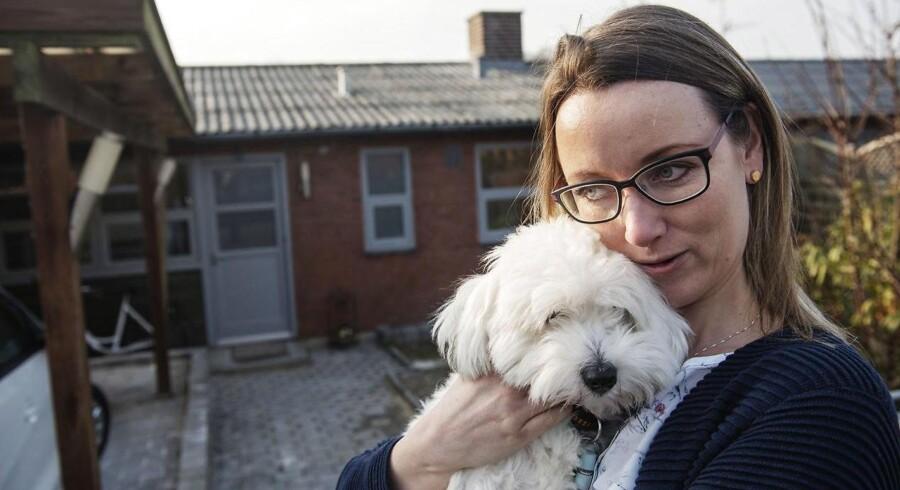 Helle Mortensen har fået to millioner kroner i erstatning, fordi det trak ud med at finde ud af, at hun lider af tarmkræft. Foto: Ólafur Steinar Gestsson