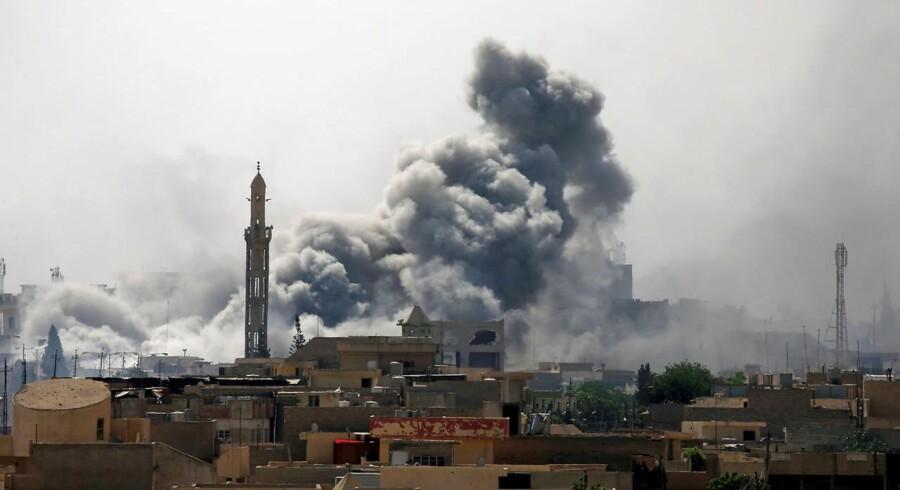I Mosul er Islamisk Stat nedkæmpet, siger amerikanske general. REUTERS/Alaa Al-Marjani/File photo