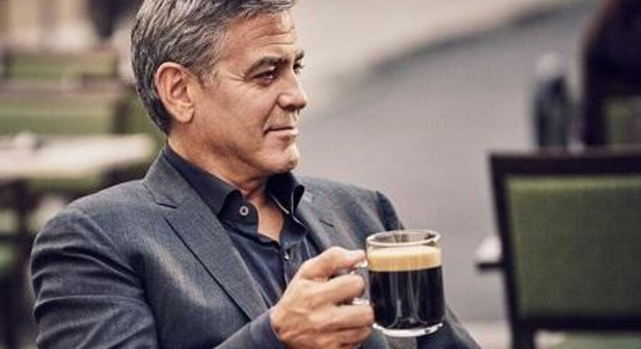Nestlé, med skuespilleren George Clooney, i front er i dag den ukronede konge af kapselkaffe, men deres position kan snart blive udfordret. PR-foto.