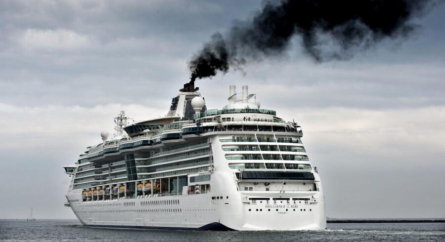 Krydstogskib ved København