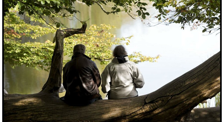 Arkivfoto: Ældre ægtepar.