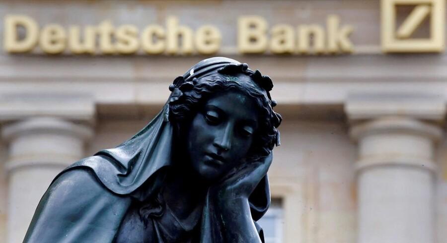 Arkivfoto. Deutsche Bank har accepteret at betale en milliardbøde til de amerikanske finansmyndigheder.