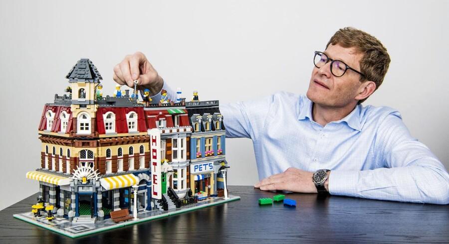 LEGO direktør Niels Bjørn Christiansen CEO LEGO