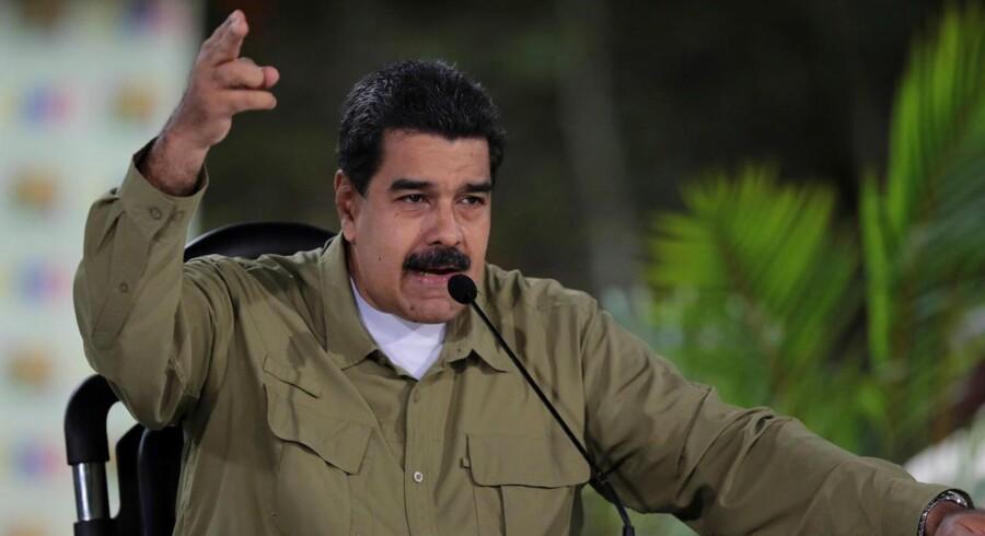 Venezuelas regering med Nicolas Maduro i spidsen gør brug af overdreven magt, lyder det fra FN.