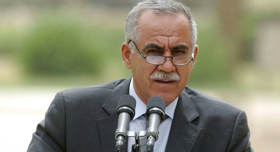 Vi vil imødegå ethvert angreb, siger en talsmand for den kurdiske leder i Irak, Massud Barzani. / AFP PHOTO / ROBERTO SCHMIDT