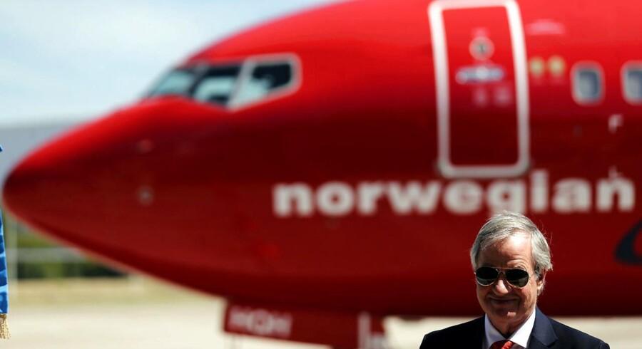 Bjørn Kjos, koncernchef i Norwegian. Ezeiza Lufthavn, Argentina 8. marts 2018.