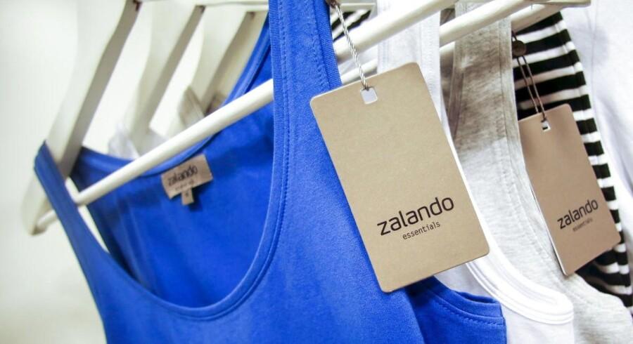 Zalando har det seneste år fået en million flere brugere i deres online modebutik og opjusterer forventningerne til 2015.