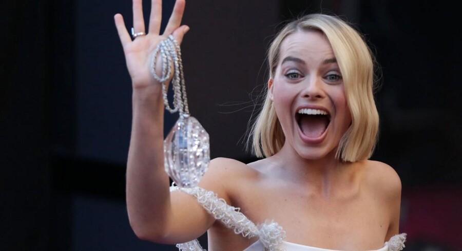 Skuespillerinde Margot Robbie, kendt for blandt andet »The Wolf of Wall Street« og »Z for Zachariah« og superheltefilmen »Suicide Squad«