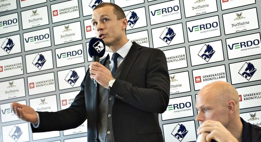 ARKIVFOTO. Michael Gravgaard indledte en debat om Superligaen, da han i B.T. beskyldte dansk klubfodbold for at være kedelig.