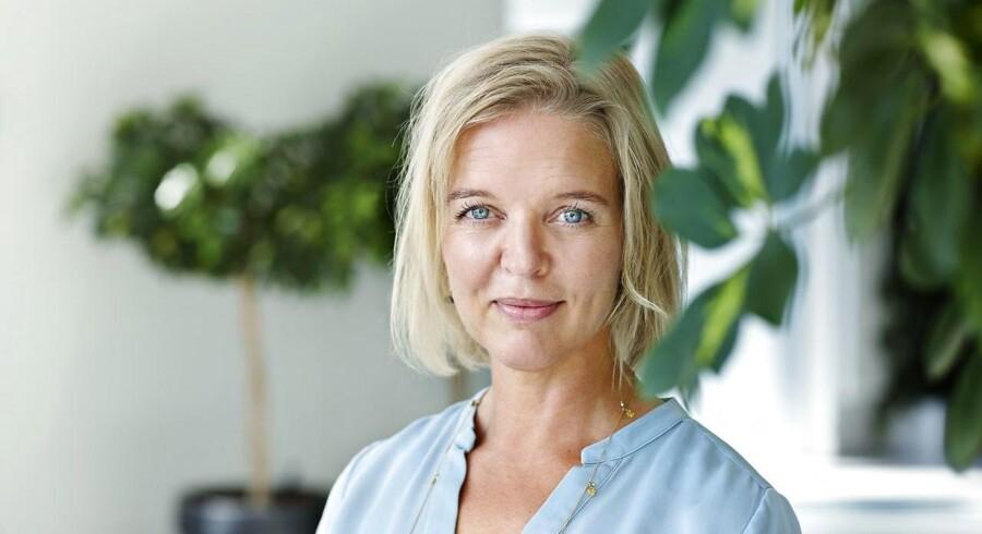 ARKIVFOTO: Pernille Erenbjerg, koncernchef, TDC