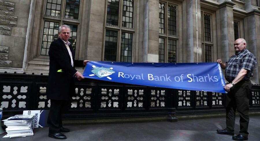 Arkivfoto. Royal Bank of Scotland mistede sit gode navn og rygte under finanskrisen. Mandag har banken undgået retssag.