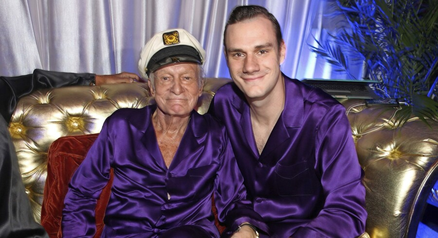 Cooper Hefner vil genrejse mandebladet Playboy for at løfte arven efter sin afdøde far, Hugh. Arkivfoto: Christopher Polk/ Getty Images