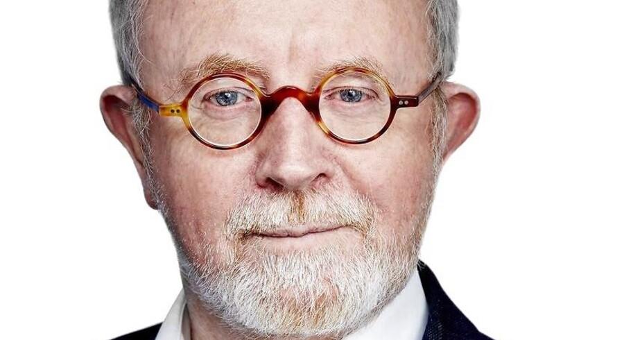Kjeld Erik Brødsgaard skal både oplyse om Kina og analysere Riget i Midten. Foto: Camillahey.dk