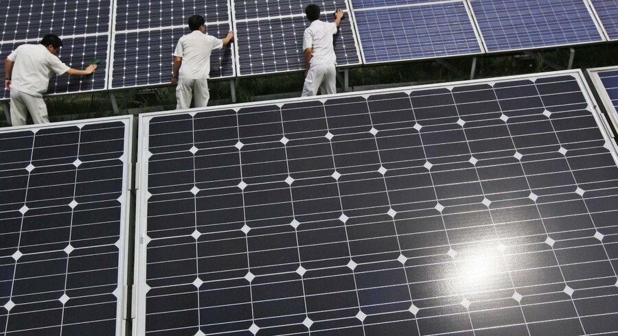 Kina vil investere 360 mia. dollar i grøn energi inden 2020