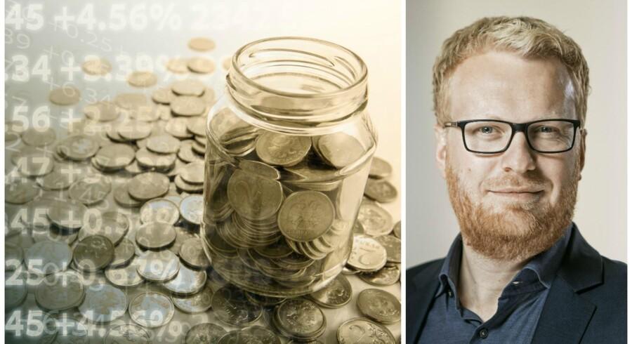 Sidder man i et lunt ministerkontor og mangler penge, må det virke som et Columbus-æg at hæve pensionsalderen: »Hvis bare vi får danskerne til blive længere tid på arbejdsmarkedet, er der råd til de topskattelettelser, som vi i regeringen har lovet!«