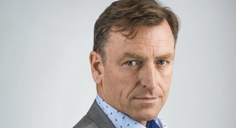 Chefredaktør på Berlingske Jens Grund