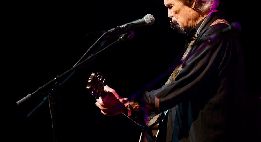 Den amerikanske countrymusiker Kris Kristofferson giver koncert i DR Koncerthuset 13. september 2016.