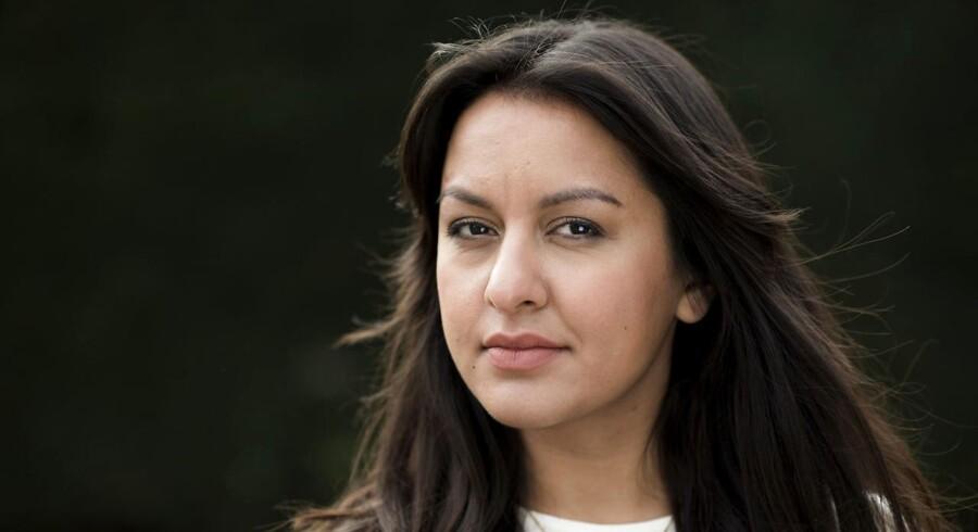Debatøren Geeti Amiri i anledning af hendes nye bog.