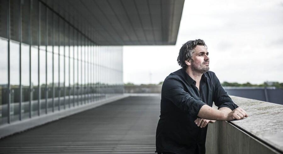 Peter Lodahl på taget af Operaen på Holmen, hvor han har sunget en række store roller.