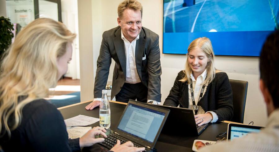 Den amerikanske it-gigant IBM vil etablere et udviklingscenter med 250 ansatte i København. Adm. direktør for IBM Danmark Henrik Bodskov (på billedet) ser store muligheder for digitalisering i Danmark, og udenrigsminister Kristian Jensen glæder sig over at have trukket en udenlandsk investor til, som kan være med til at skabe en ny, digital fremtid for Danmark.