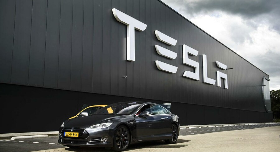 Tesla har leveret 17.400 biler i fjerde kvartal.