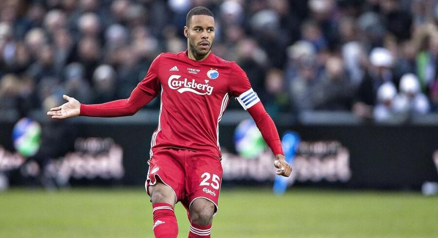 Arkivfoto. Mathias »Zanka« Jørgensen bliver hjemme fra FCK's træningslejr, da klubben snart forventer at sælge anføreren.