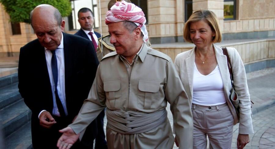 Iraks kurdiske leder, Massoud Barzani.