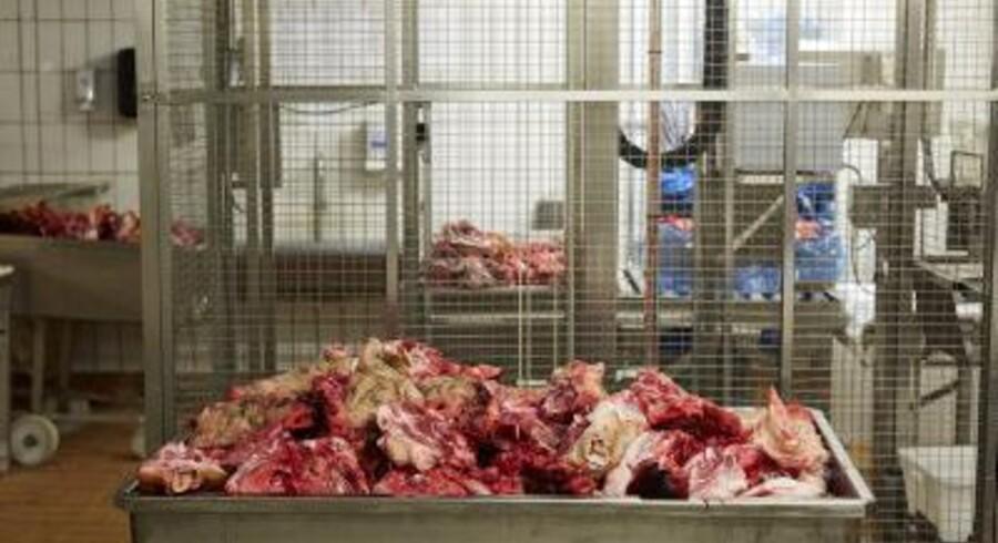 Fødevarestyrelsen undersøger om en kødskandale i Brasilien kan have betydet, at der er solgt fordærvet kød i Danmark. Foto: Polfoto/Pelle Rink