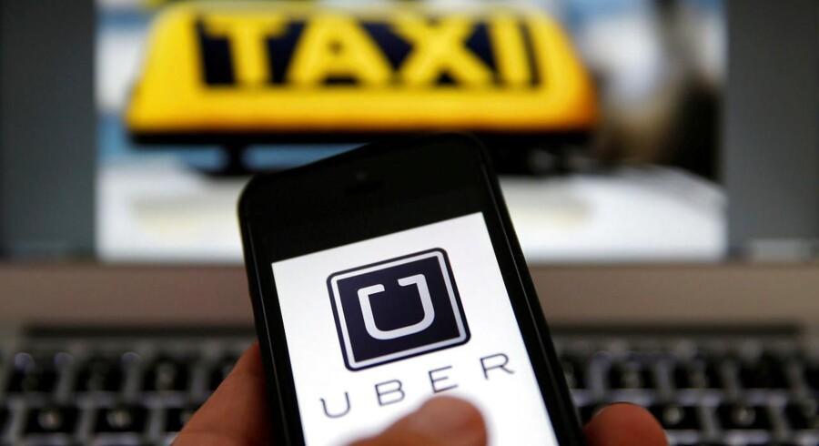 ARKIVFOTO: Uber fastholder , at man ikke driver taxavirksomhed, men blot stiller teknologi til rådighed, der muliggør samkørsel.