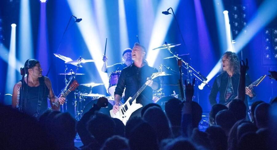 Metallica - still going heavy.