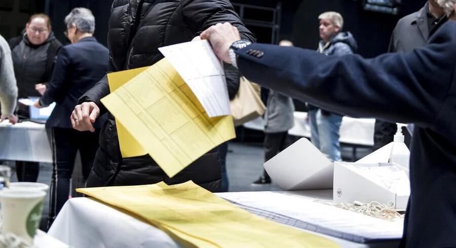 Alle stemmer på Fanø skal tælles om.