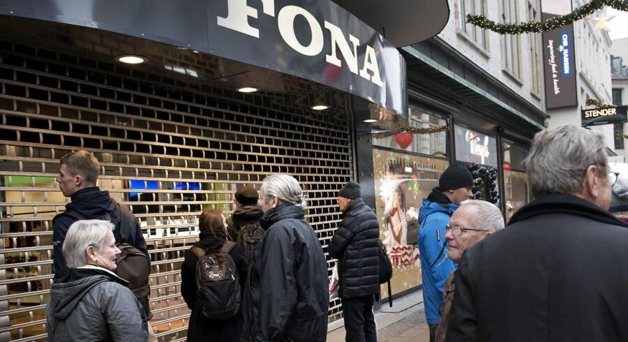 Black Friday i Fona på Strøget i København fredag 27. november 2015.