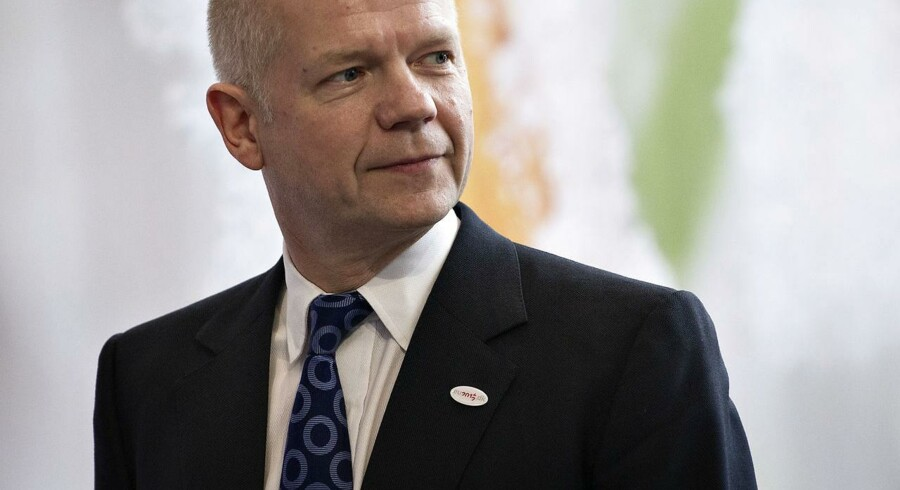 William Hague (United Kingdom). (Foto: Torkil Adsersen/Scanpix 2012)