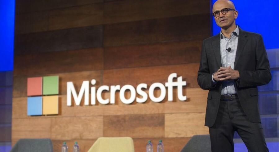 Microsoft-topchef Satya Nadella