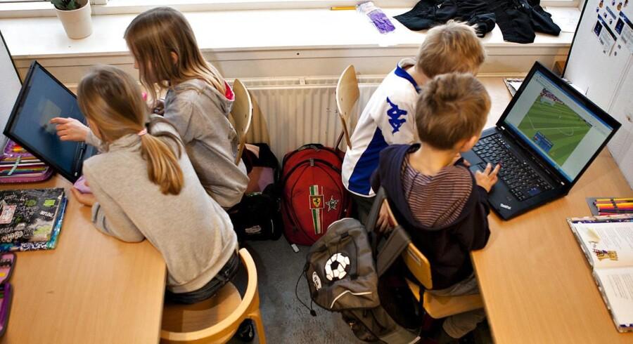 Arkivfoto: Det er især et fravalg af folkeskolens lange skoledage, lyder det fra kommuner og friskoler.