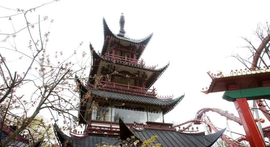 Tivolo og mivhelin-kokken Henrik yde dropper samrbejde om Det kinesiske tårn.