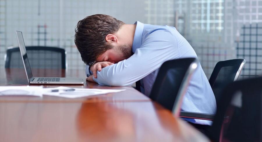 Man taler ofte om stress i forbindelse med arbejdet, men det er ikke altid tilfældet.