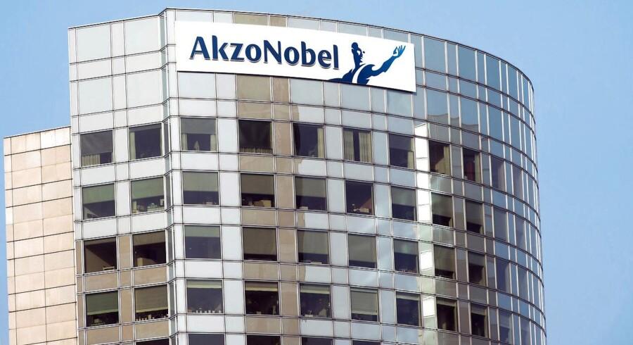 Arkivfoto. Presset på hollandske Akzonobel, der gør sig inden for maling og kemikalier, fortsætter, efter at selskabet i marts afviste et bud på lige over 24 mia. dollar fra sin amerikanske rival PPG Industries.