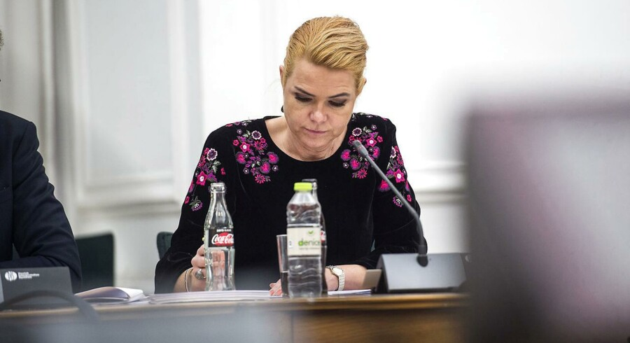 Folketinget har onsdag vedtaget en ny kvoteordning, så det fremover vil være udlændingeministeren, der fastsætter, hvor mange kvoteflygtninge Danmark årligt modtager. (Foto: Sarah Christine Nørgaard/Scanpix 2017)