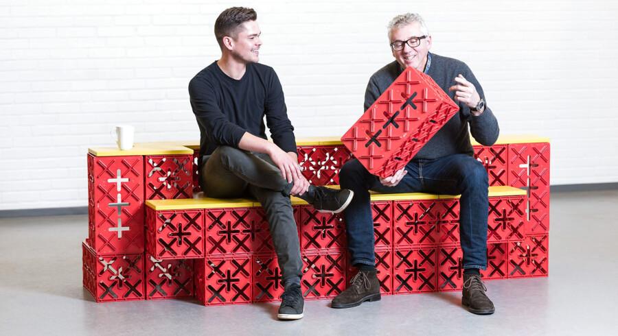Oliver Erritzøe og Pascal Laraignou, som står bag virksomheden X Block, fik en mildest tal lunken modtagelse, da de bad om 3 millioner for 10 procent af virksomheden i Løvernes Hule tirsdag.